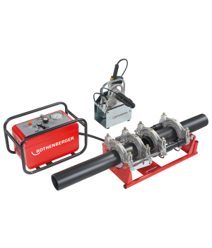 Аппарат для стыковой сварки труб Rothenberger Roweld P 160 B Professional - 1000000997