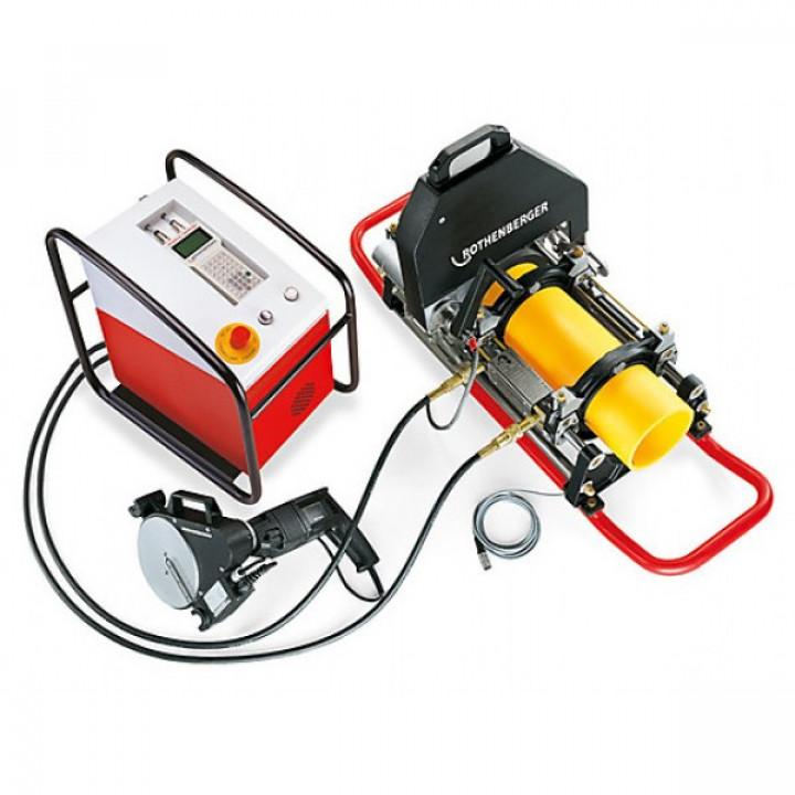Машина для стыковой сварки труб с программным управлением Rothenberger Roweld P 160 B CNC VA - 54350