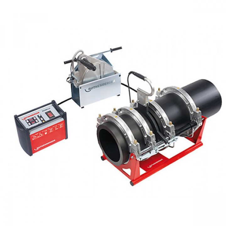 Аппарат для стыковой сварки труб Rothenberger ROWELD P 355 В Premium CNC SA - 1000000385