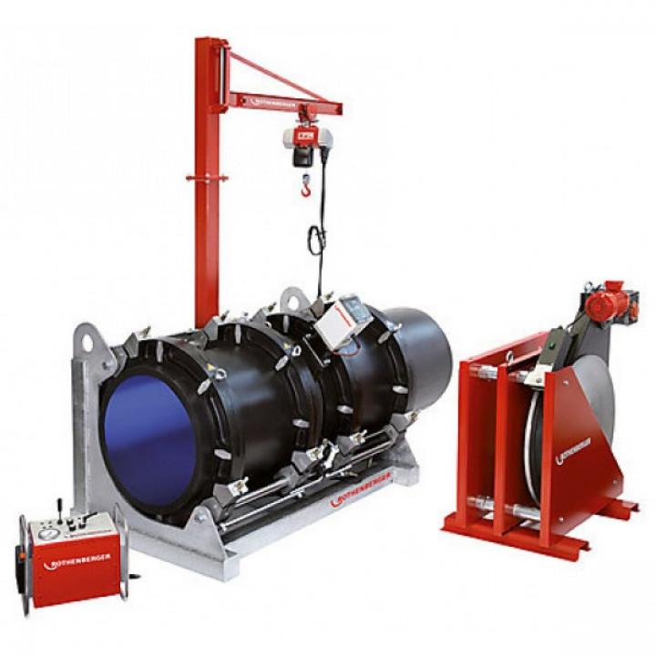 Аппарат для сварки пластиковых труб с программным управлением Rothenberger ROWELD P 800 B - 54176