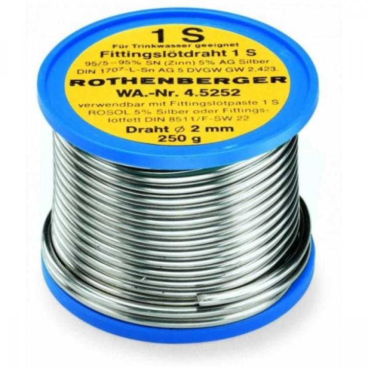Мягкий припой Rothenberger 1 S - 45252 - 45252