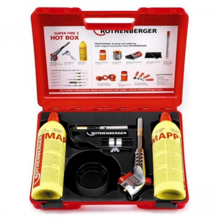 Набор горелок Rothenberger Super Fire Hot Box - 35490 - 35490