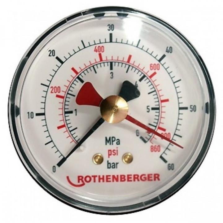 Манометры для опрессовщиков Rothenberger - 61316