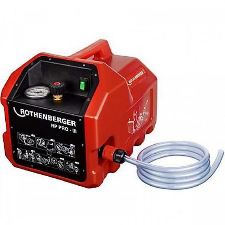 Электрический опрессовочный насос Rothenberger RP PRO III - 61187