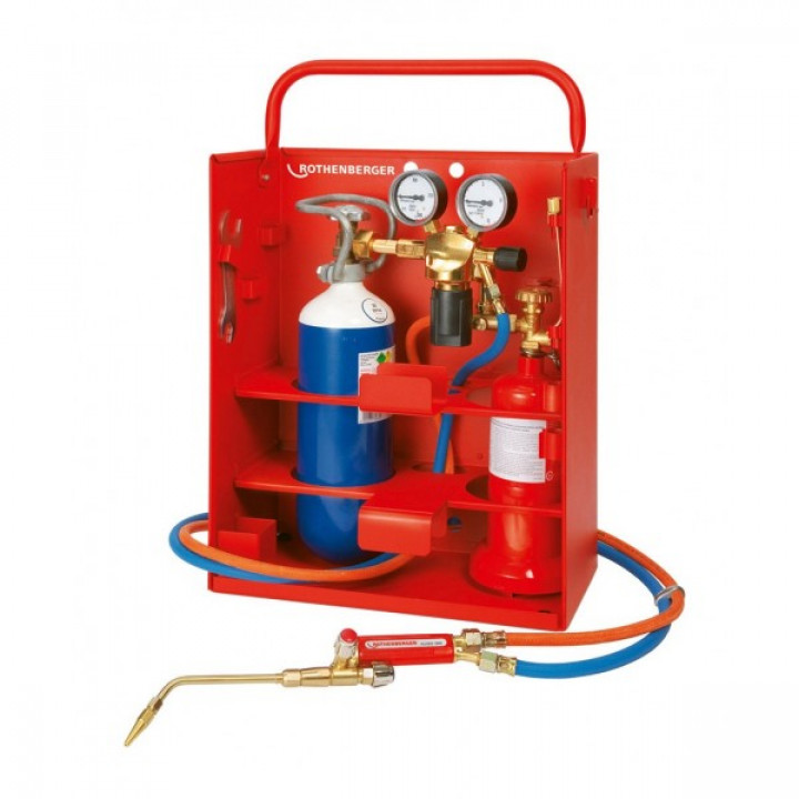 Газовый пост Rothenberger Allgas 2000 PS (Оллгаз 2000 PS) 0,5/2 Compact - 35655