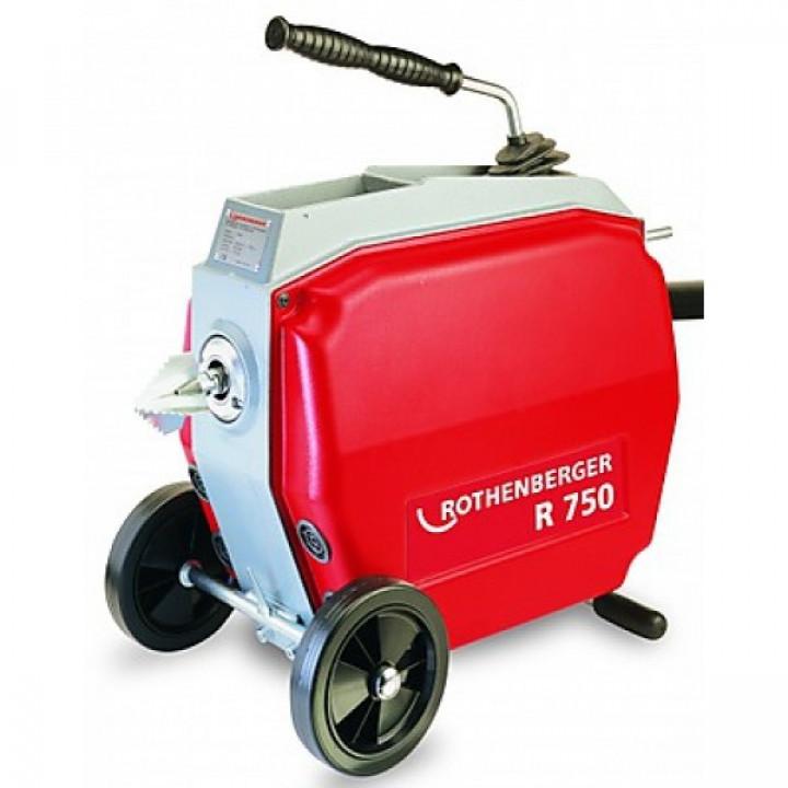 Машина для прочистки канализационных труб Rothenberger R750 - 72915