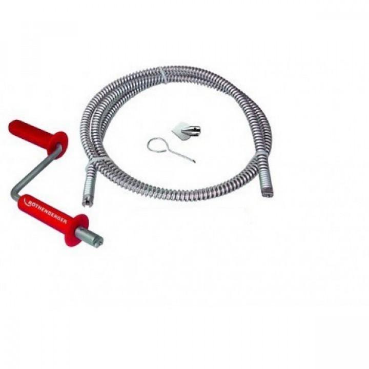 Трос для прочистки труб Rothenberger ROPOWER HANDY - 72494