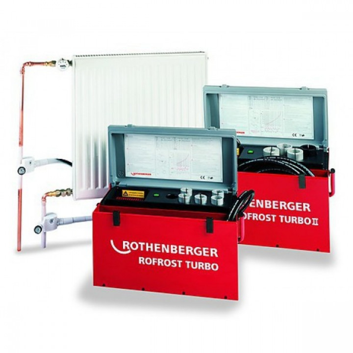 Аппарат для заморозки труб Rothenberger Rofrost Turbo - 62200