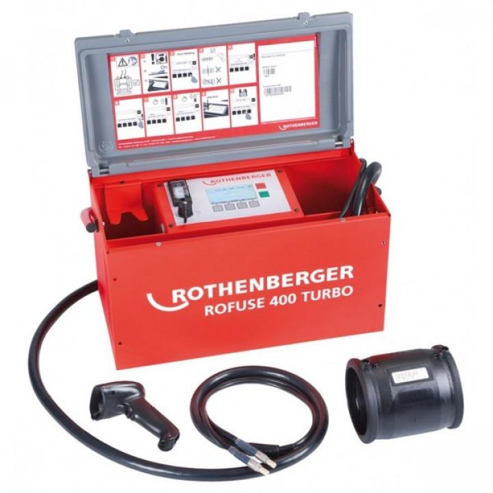 Аппарат для электромуфтовой сварки Rothenberger Roweld Rofuse 400 Turbo - 1000000999