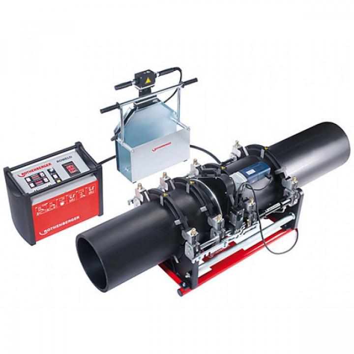 Машина для стыковой сварки труб Rothenberger ROWELD P 355 B Professional - 1000000387