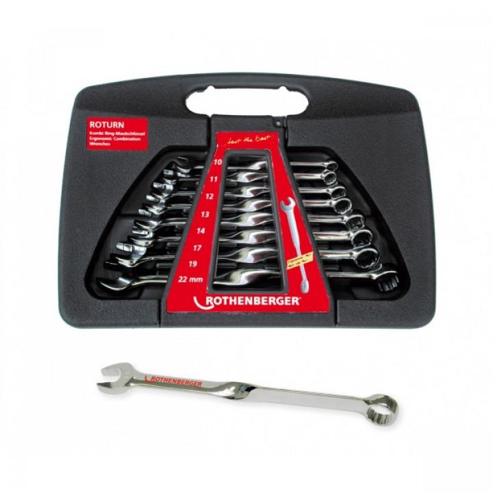 Набор гаечных ключей Rothenberger Roturn - 70475