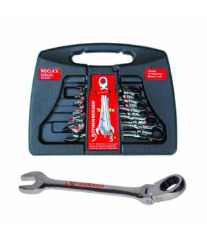 Набор гаечных ключей Rothenberger Roclick - 70490